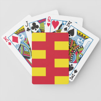 Flag of Northumberland Bicycle Playing Cards