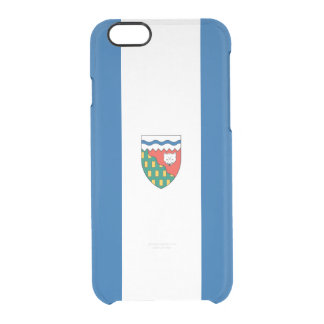 Flag of Northwest Territories Clear iPhone Case
