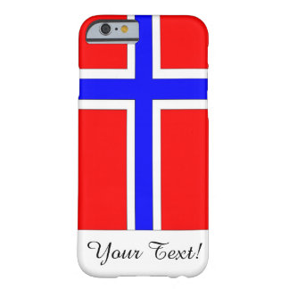 Flag of Norway Barely There iPhone 6 Case