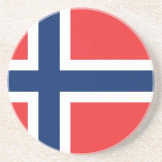Flag of Norway Beverage Coasters