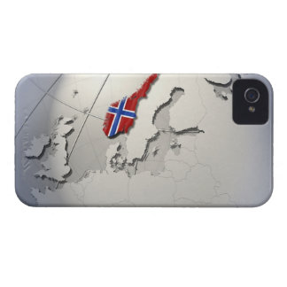 Flag of Norway Case-Mate iPhone 4 Case