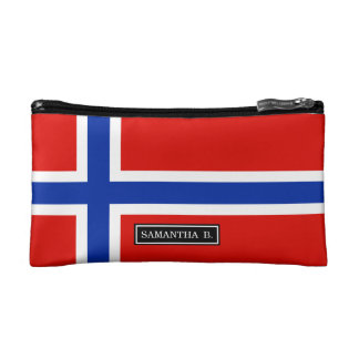 Flag of Norway Cosmetic Bag