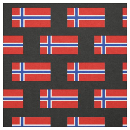Flag of Norway Fabric