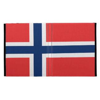 Flag of Norway iPad Folio Case