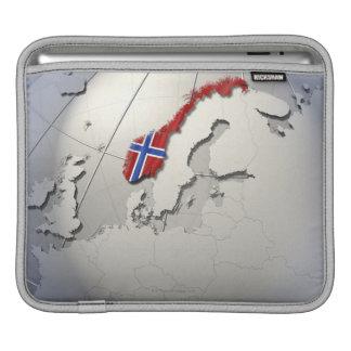 Flag of Norway iPad Sleeve