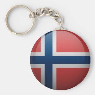 Flag of Norway Key Ring