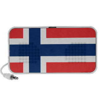 Flag of Norway - Norges flagg - Det norske flagget Mini Speakers