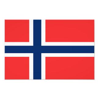 Flag of Norway Photo