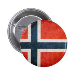Flag of Norway Pinback Button