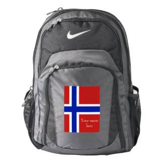 Flag of Norway Scandinavian Backpack