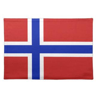 Flag of Norway Scandinavian Placemat