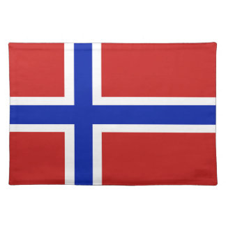 Flag of Norway Scandinavian Placemats