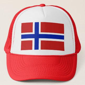 Flag of Norway Scandinavian Trucker Hat