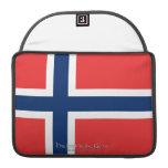 Flag of Norway Sleeves For MacBooks