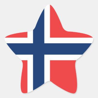 Flag of Norway Sticker (Star)