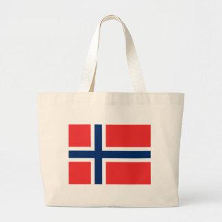 Flag of Norway Jumbo Tote Bag