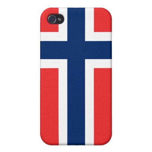 Flag of Norway Tshirts, Mugs, Buttons iPhone 4/4S Case