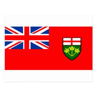 Flag of Ontario Postcard
