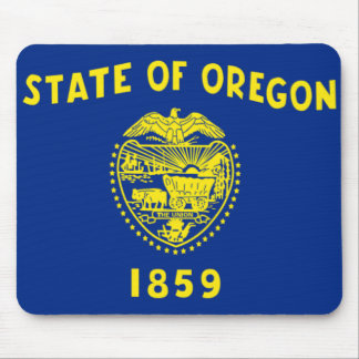 Flag of Oregon Mouse Mat