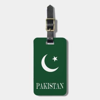 Flag of Pakistan Luggage Tag