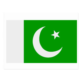 Flag of Pakistan Postcard
