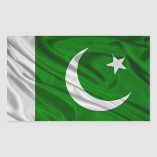 Flag of Pakistan Rectangular Sticker