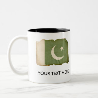 Flag of Pakistan Two-Tone Coffee Mug
