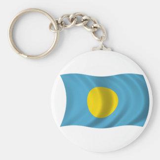 Flag of Palau Key Ring