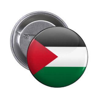 Flag of Palestine 6 Cm Round Badge