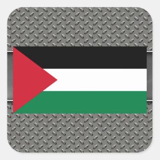 Flag of Palestine Square Sticker