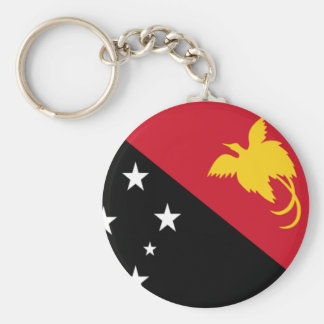 Flag of Papua New Guinea Keychain