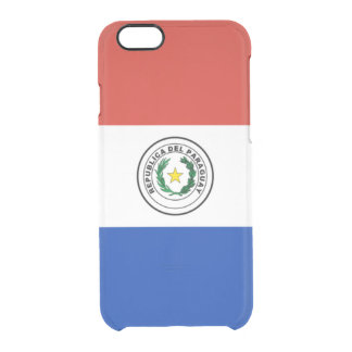 Flag of Paraguay Clear iPhone Case