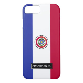 Flag of Paraguay iPhone 7 Case