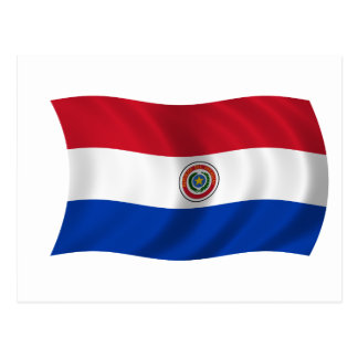 Flag of Paraguay Postcard