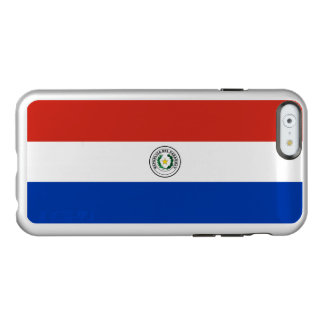 Flag of Paraguay Silver iPhone Case Incipio Feather® Shine iPhone 6 Case