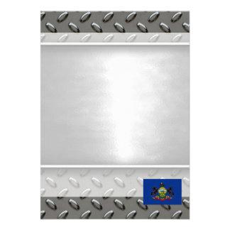 Flag of Pennsylvania 13 Cm X 18 Cm Invitation Card