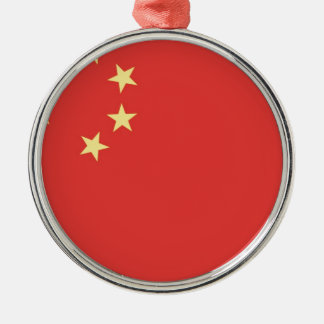 Flag of Peoples Republic of China Christmas Ornament