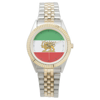Flag of Persia / Iran (1964-1980) Watch