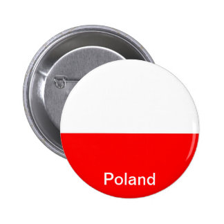 Flag of Poland Pinback Buttons