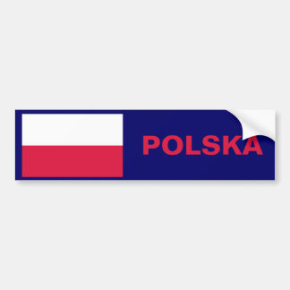 Flag of Poland Bumper Sticker