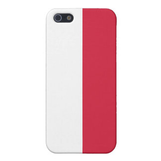 Flag of Poland iPhone 5 Cases
