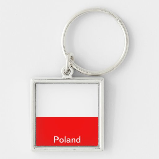 Flag of Poland Keychains