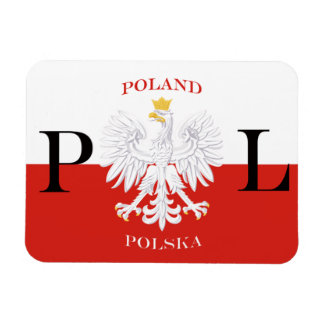 Flag of Poland Polska Premium Flex Magnet
