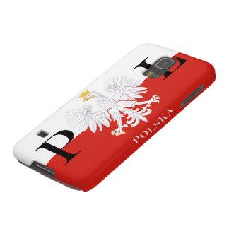 Flag of Poland Polska White Eagle Galaxy S5 Cover