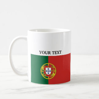 Flag of Portugal Basic White Mug