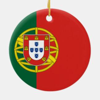 Flag of Portugal Christmas Ornament