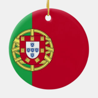 Flag of Portugal Christmas Ornament