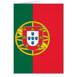 Flag of Portugal Greeting Cards