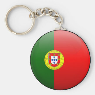 Flag of Portugal Key Ring