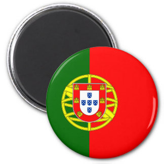 Flag of Portugal Magnet (Round)